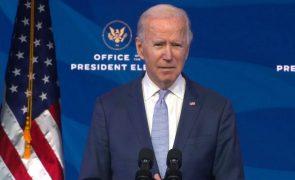 EUA/Eleições: Biden diz que protestos no Capitólio são ataque à democracia