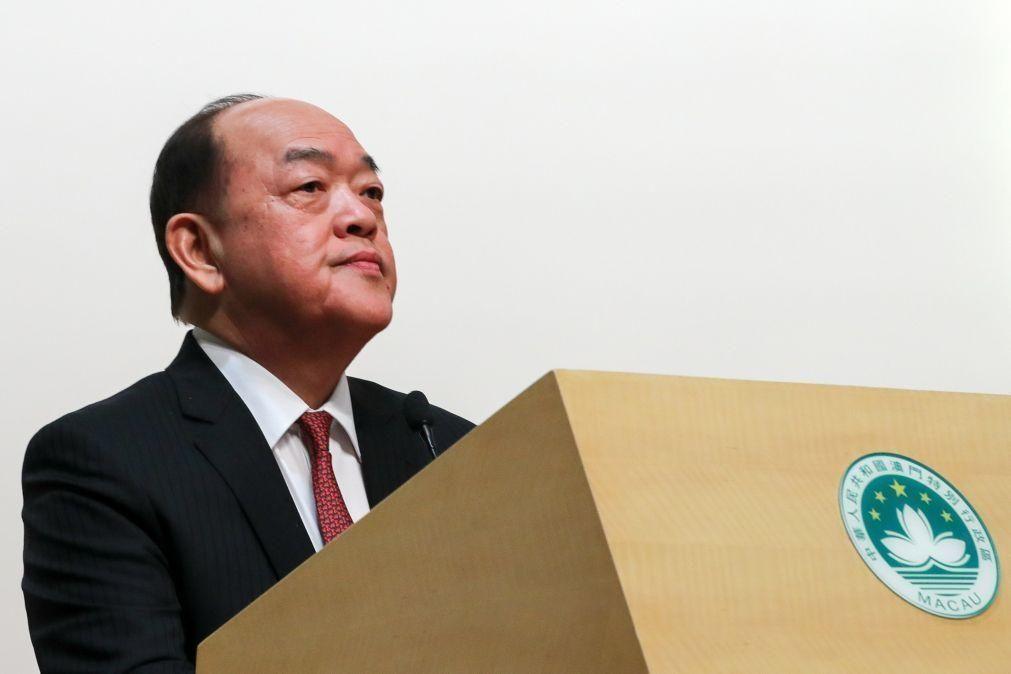 Líder de Macau vai visitar cidades da Grande Baía e acompanhar evolução de projetos