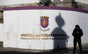 Covid-19: Hospital das Forças Armadas internou mais de 500 doentes desde março