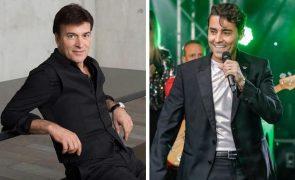 Tony Carreira ajudou Ricardo Pereira na construção da personagem para a nova novela da SIC
