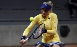 Tenista ucraniana Dayana Yastremska suspensa provisoriamente por doping