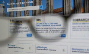 Declaração do IRS com campo para incluir dependentes em acolhimento no agregado familiar