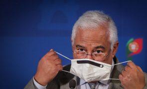 Covid-19: Costa começa a receber partidos sobre agravamento de restrições