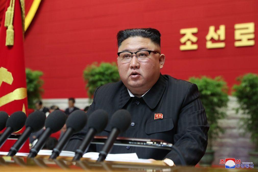 Líder norte-coreano quer rever laços com Coreia do Sul e reforçar relações externas