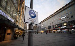 Covid-19: Alemanha regista novo máximo diário de 1.188 mortes em 24 horas