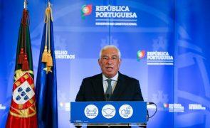 Covid-19: Costa elogia Comissão Europeia pela compra de mais 300 milhões de doses de vacina