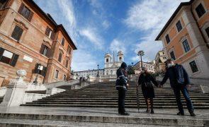 Covid-19: Itália com 620 mortes e 17.533 novos casos nas últimas 24 horas