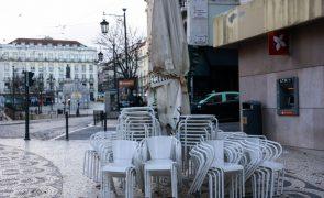 Covid-19: Recolher obrigatório às 13:00 em 91% dos concelhos de Portugal continental