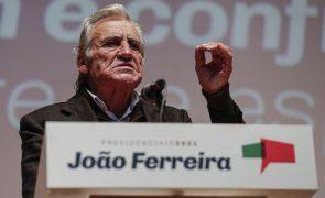 Presidenciais: Líder do PCP diz que só o voto em João Ferreira é