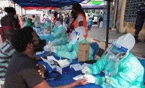 Covid-19: Angola com mais 90 infeções, uma morte e 493 recuperados