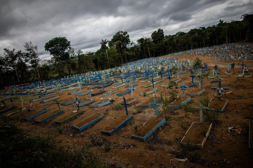 Covid-19: Brasil regista mais 62.290 infetados e 1.171 mortos