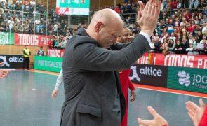 Três portugueses entre os nomeados para melhores treinadores de futsal do mundo