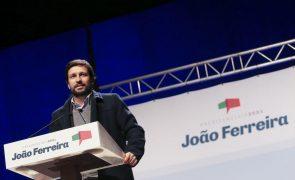 Presidenciais: João Ferreira aponta décadas de políticas contra a letra da Constituição