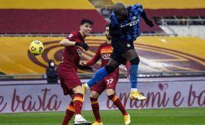 Roma de Paulo Fonseca empata contra o Inter e atrasa-se na perseguição ao Milan [vídeo]
