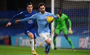 City continua na Taça de Inglaterra com 'bis' de Bernardo Silva, Leeds afastado