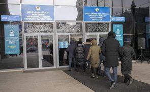 Dezenas de pessoas detidas por protestarem contra eleições no Cazaquistão
