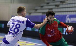 Portugal perde na Islândia no apuramento para Europeu de andebol de 2022