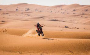Dakar2021: Cornejo vence oitava etapa e reforça liderança nas motas