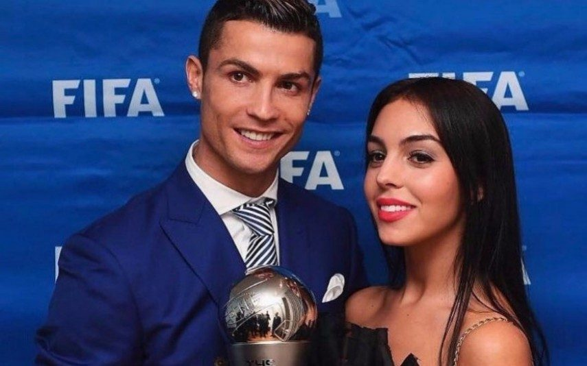 Cristiano Ronaldo em férias românticas com Georgina Rodriguez