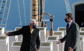 Costa e Mitsotakis elogiam ação humanitária e de segurança da Polícia Marítima na Grécia