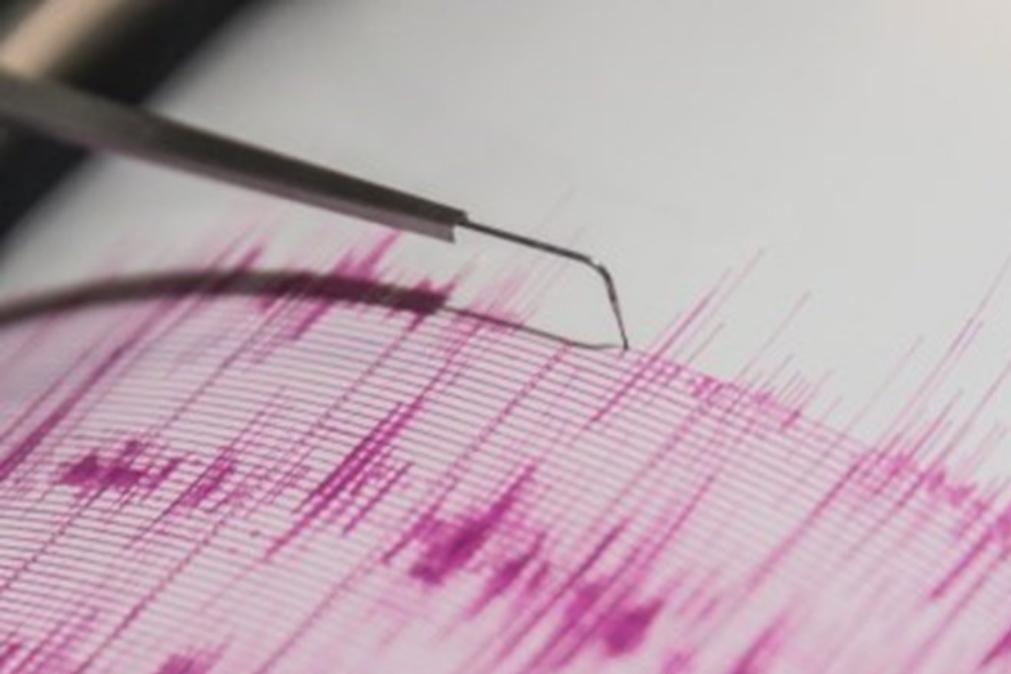Sismo de magnitude 5,4 sentido em quatro ilhas dos Açores