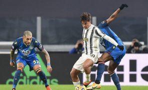Dybala está lesionado e não é opção na Juventus em janeiro