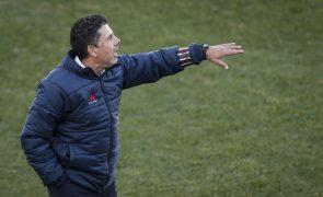 Treinador do Estrela da Amadora vai manter ideias de jogo diante do Benfica