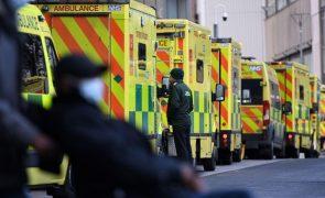 Covid-19: Reino Unido regista 529 mortes perante falta de oxigénio em hospitais