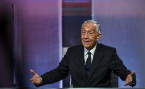 Presidenciais: Marcelo considera que Costa lhe criou um problema com as palavras na Autoeuropa