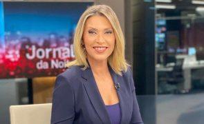 Clara de Sousa está em isolamento devido à covid-19