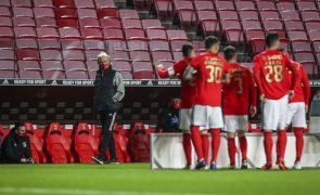 Benfica sem seis titulares e com muitas mexidas nos convocados para a Taça