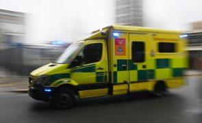 Covid-19: Reino Unido registou em 2020 maior mortalidade desde II Guerra Mundial