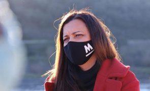 Marisa Matias testa negativo à covid-19 e retoma agenda presencial