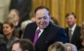 Morreu Sheldon Adelson, o homem que transformou água em casinos e riqueza em Macau