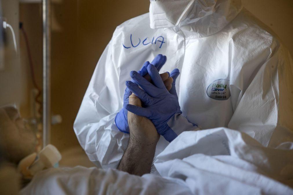Covid-19: Itália regista 616 mortes em 24 horas e aproxima-se dos 80 mil óbitos