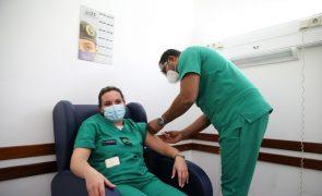 Covid-19: Vacinação na GNR começou hoje com profissionais de centro clínico em Lisboa