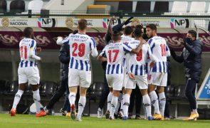 FC Porto vence Nacional no prolongamento e está nos 'quartos' da Taça de Portugal