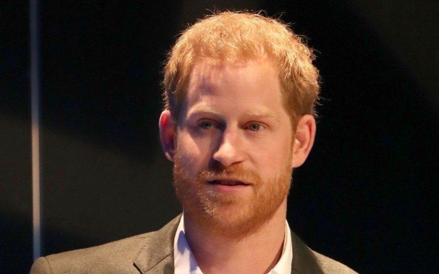 Príncipe Harry agora usa rabo de cavalo