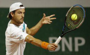 Portugal com três tenistas pela primeira vez num quadro masculino do 'Grand Slam'