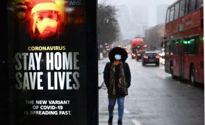 Covid-19: Reino Unido regista novo recorde de 1.564 mortes