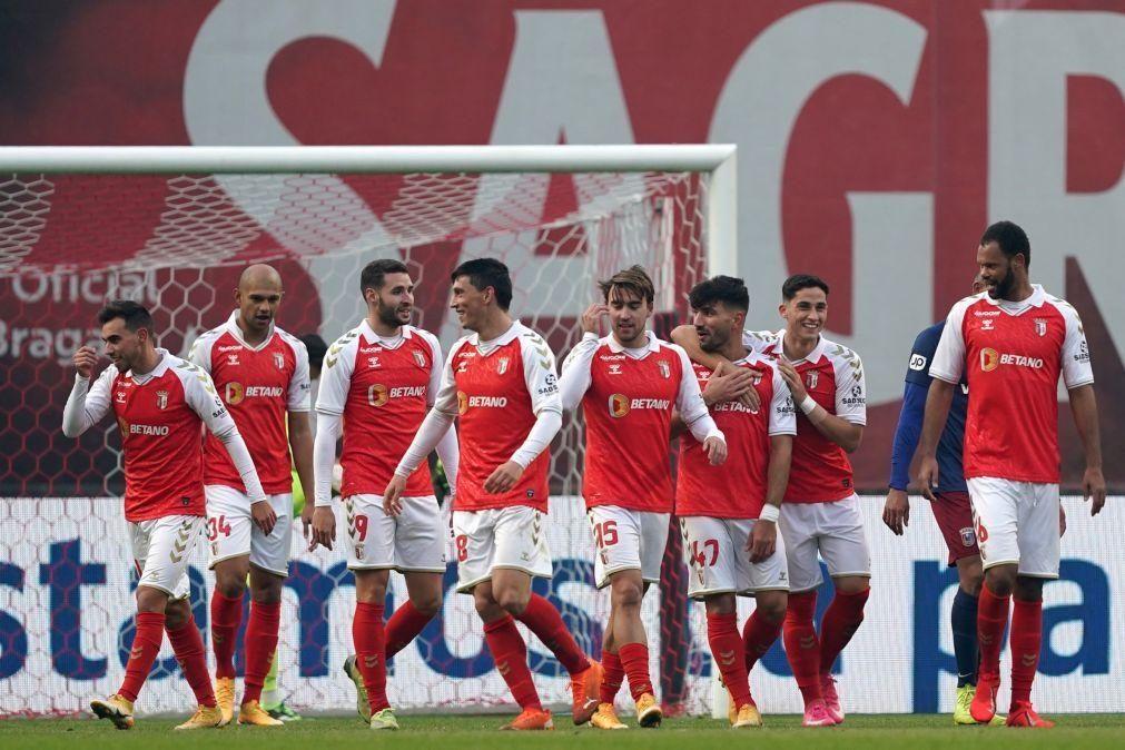 Sporting de Braga vence Torreense e está nos 'quartos' da Taça de Portugal