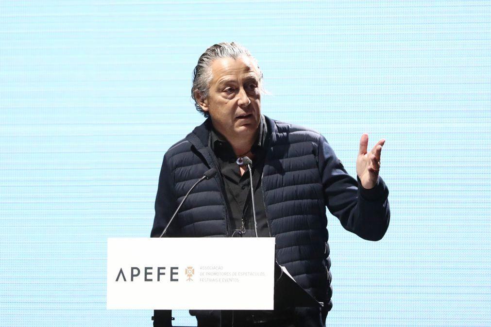 «Cultura precisa de bazuca de apoios», diz Álvaro Covões