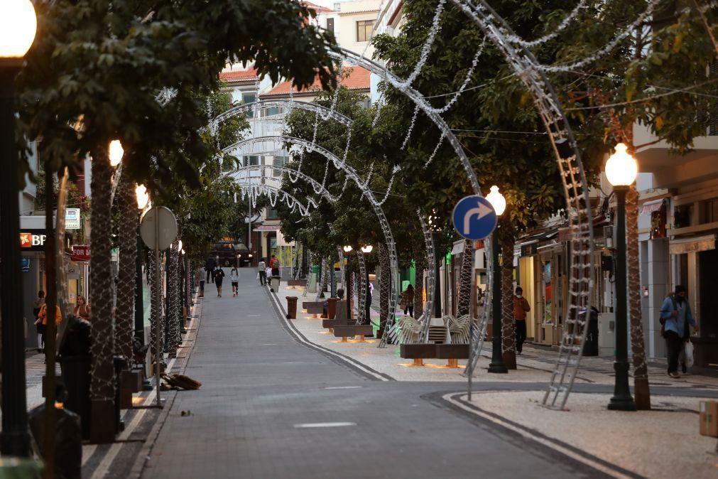 Covid-19: Recolher obrigatório na Madeira foi cumprido e esvaziou Funchal às 19:00 horas