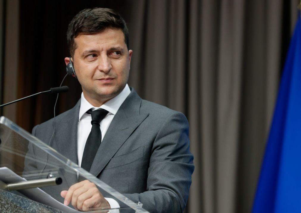 Marcelo convida homólogo ucraniano a visitar Portugal no primeiro trimestre do ano