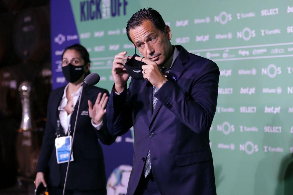 Covid-19: Pedro Proença congratula-se por ver atividade profissional prosseguir