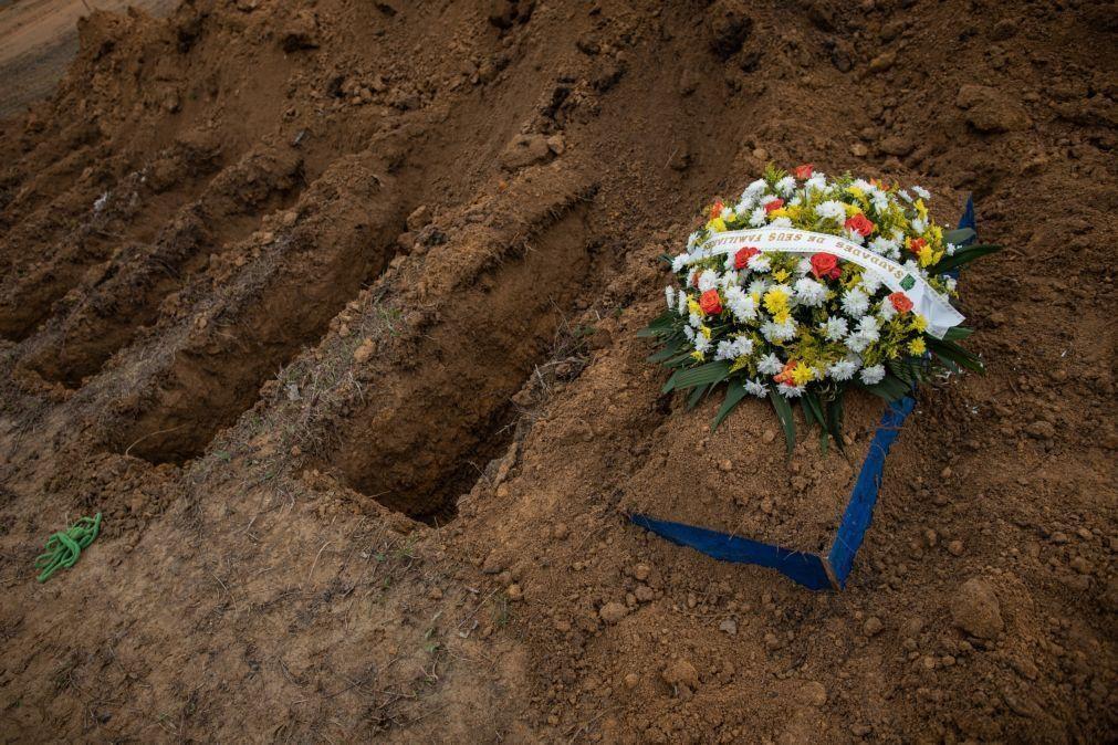 Covid-19: Brasil soma 1.274 mortos em 24 horas e aproxima-se dos 206 mil óbitos
