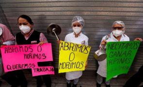 Covid-19: México com 1.235 mortes e 15.873 casos num só dia