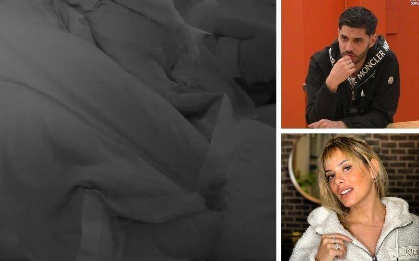Gonçalo Quinaz e Helena Isabel em cenas quentes na cama com Joana Diniz [vídeo]