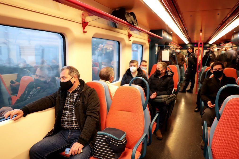 CP mantém 100% da oferta de comboios urbanos, regionais e inter-regionais