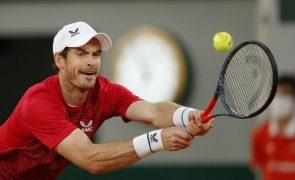 Covid-19: Andy Murray testa positivo e está em dúvida para o Open da Austrália